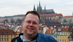 Bob Adams, Editor, Writer, Proofreader - photo from Prague
